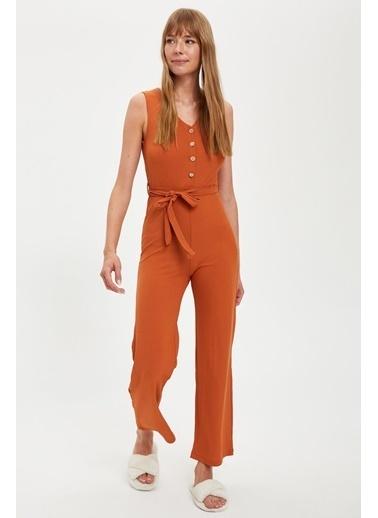 Defacto –Fit Pijama Takım Bordo